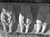Ancient Egypt : Frieze With Three Images of Tholt
