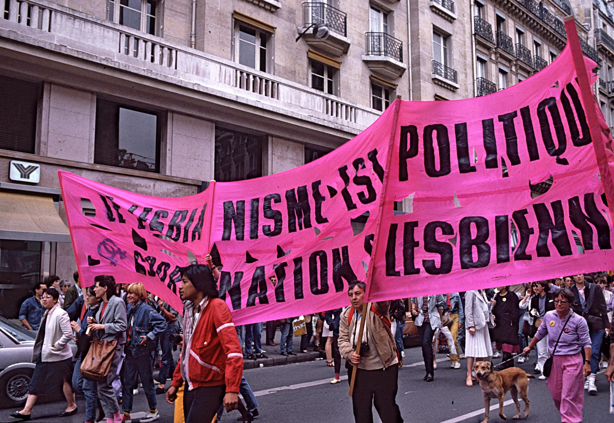 Gay Pride Paris 1983 - 1
