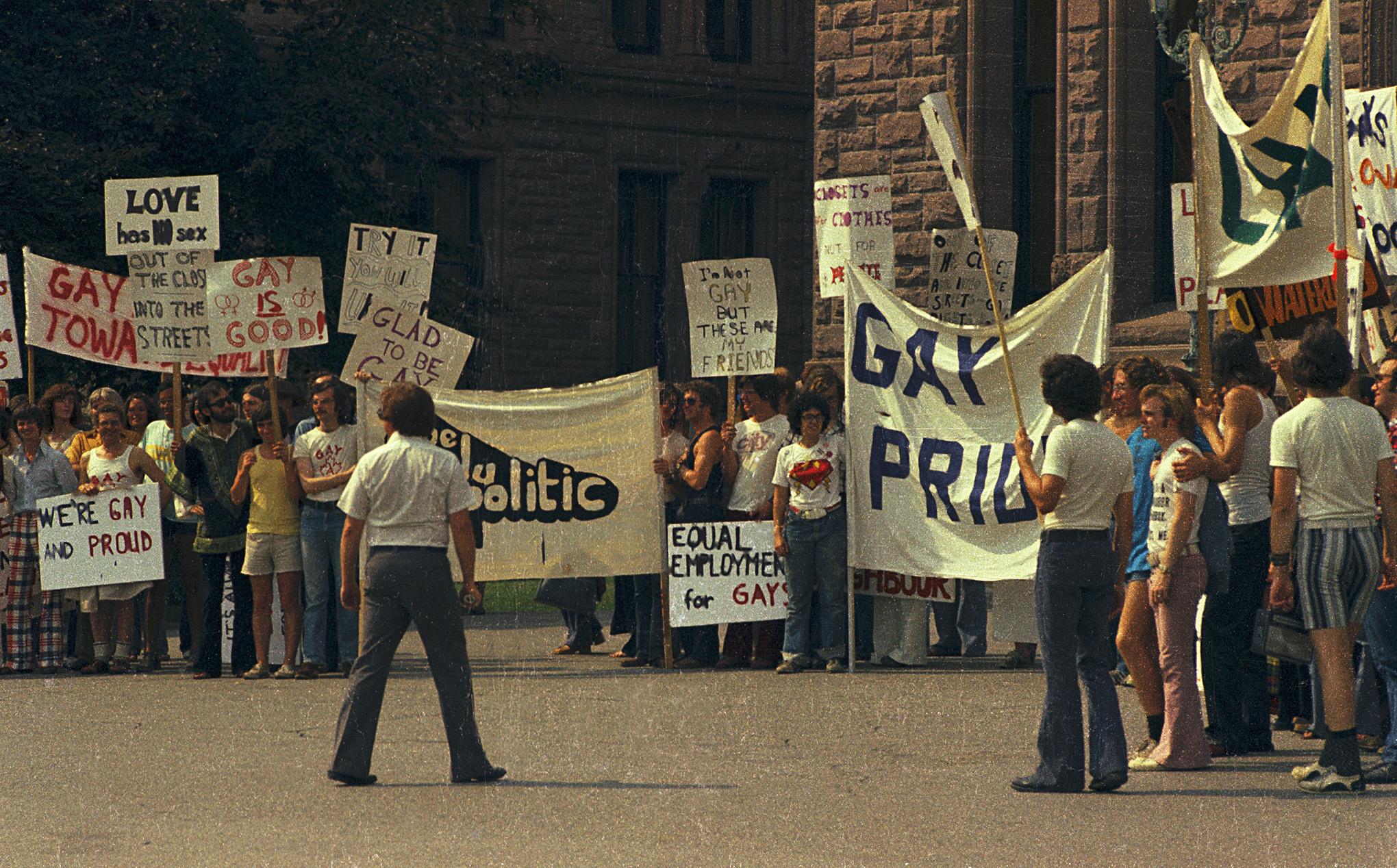 Toronto Gay Pride 1973 - 1