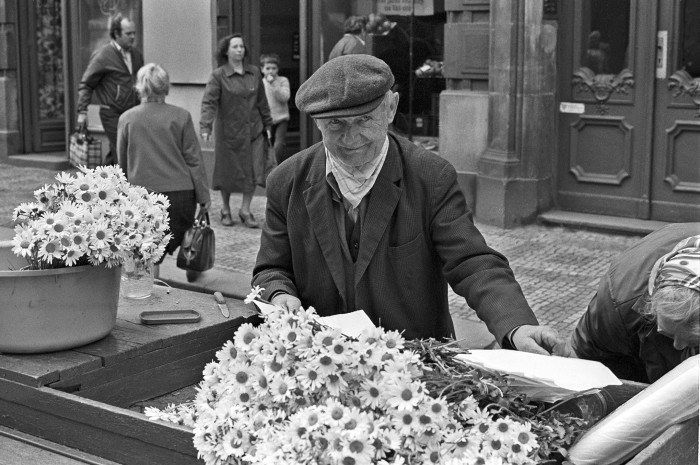 Prague Flower Seller