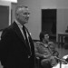 Christopher Isherwood at the University of Toronto, Feb. 1976. thumbnail