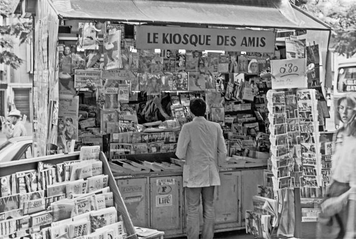Kiosk des Amis