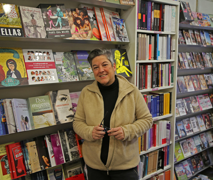 Mili Hernandez, Bookseller and Publisher, Madrid, Spain
