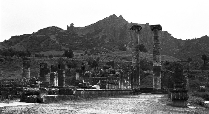 Temple to Artemis. Sardis, Turkey, 1984